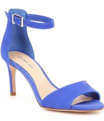 Gianni Bini Meria Ankle Strap Leather Dress Sandals $69.99