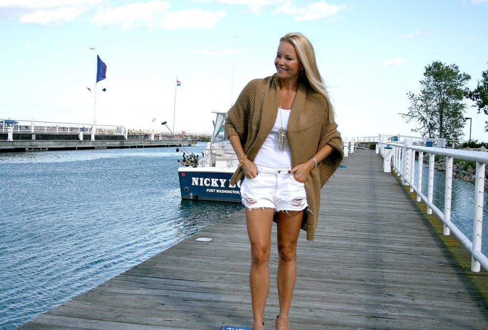 Cardigan and White Shorts Full Look.jpg