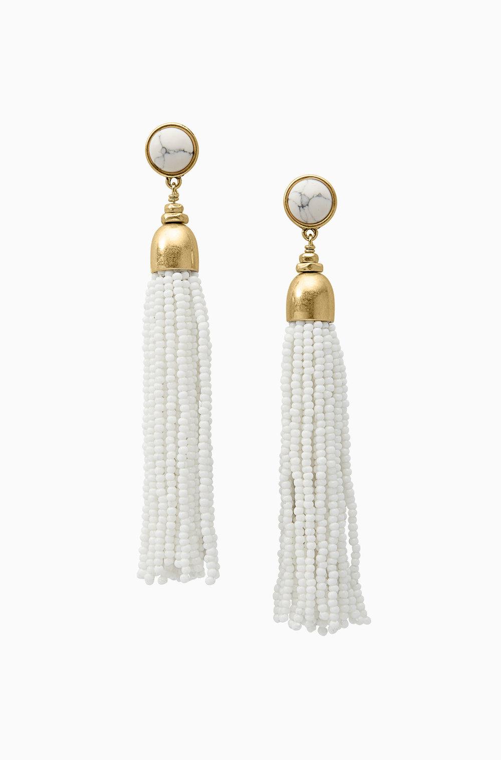 Gita Tassel Earrings $39