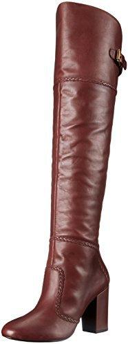 Nine West Women's Jena Over-The-Knee Boot, Cognac $129