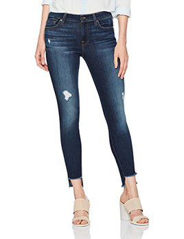 7 for All Manking High Low Jeans $169