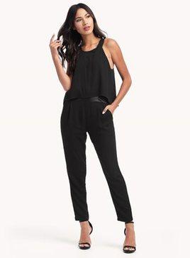 Ella Moss - Black Stella Jumpsuit $258