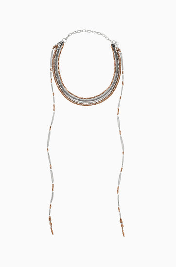 Logan Layered Necklace $98