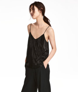 H&M Pleated Camisole Top $4.99