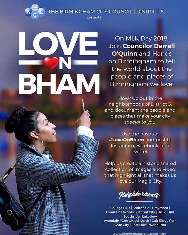 #LoveOnBham today!
