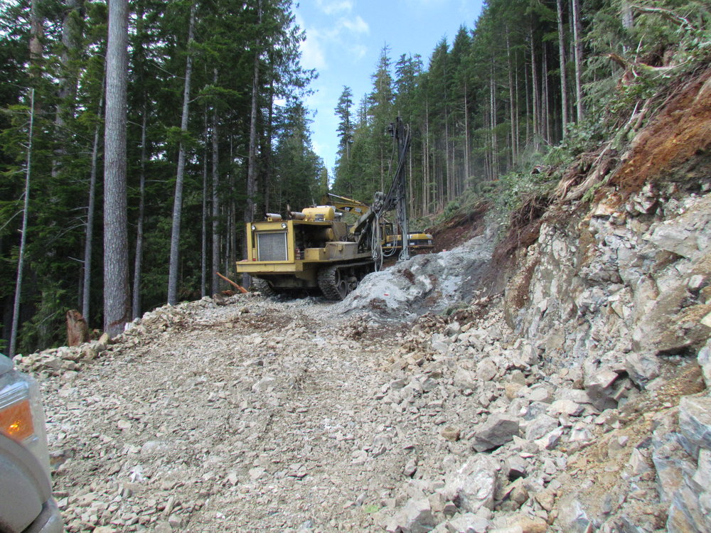 Forestry Road Building