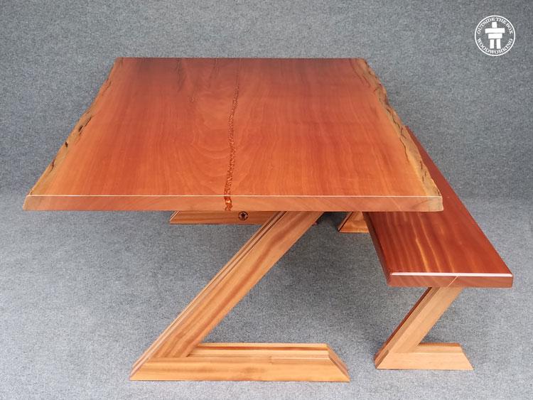 Modern slab table