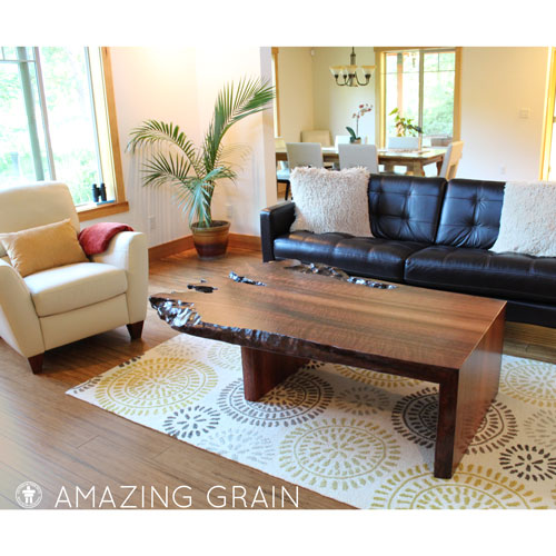 Gig Harbor, Washington custom coffee table