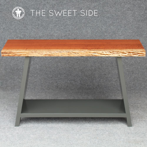 Gig Harbor custom side console table