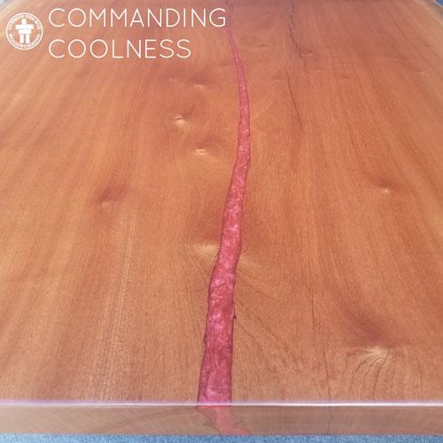 Custom dining table Washington state