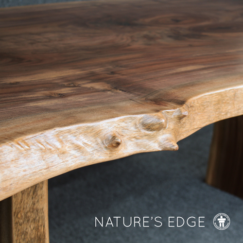 Live edge Walnut dining table Washington