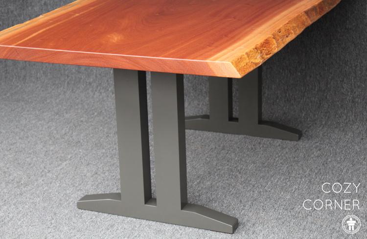 Live edge slab table Seattle