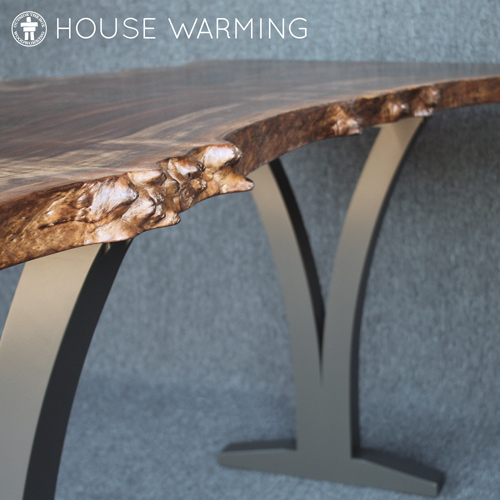 Live edge bistro dining table