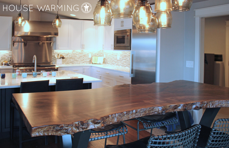 Live edge dining table Seatle