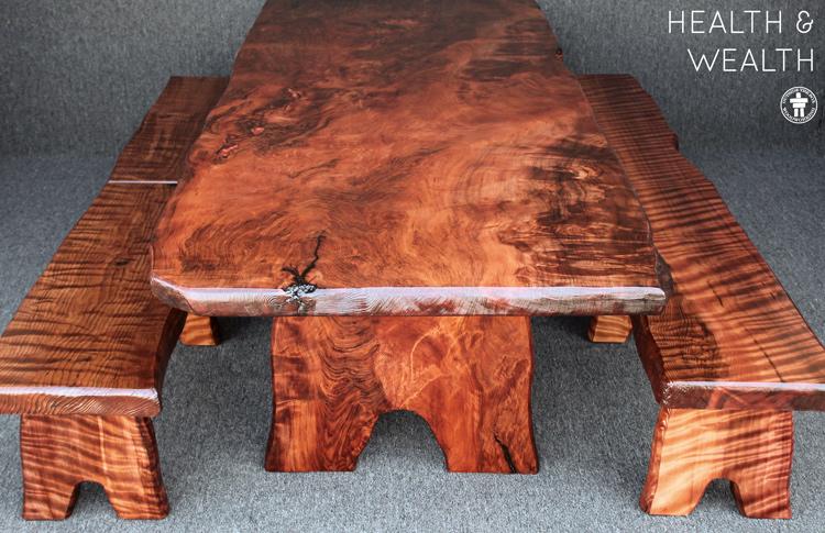 Handmade dining table Seattle