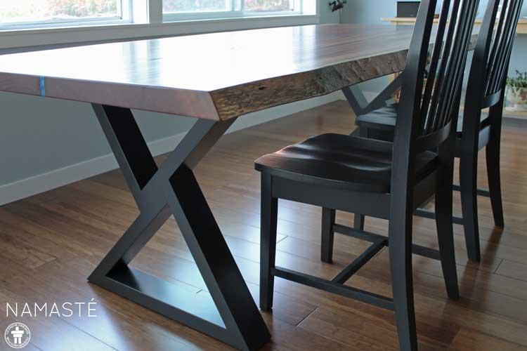 Custom dining table Tacoma, WA