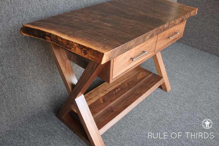 Handmade live edge table Tacoma