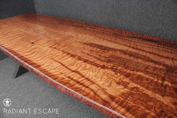 Lake Chelan custom dining table
