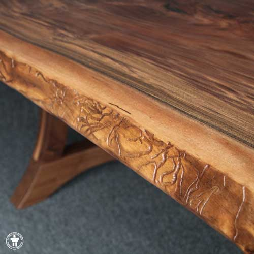 Live edge dining table Seattle