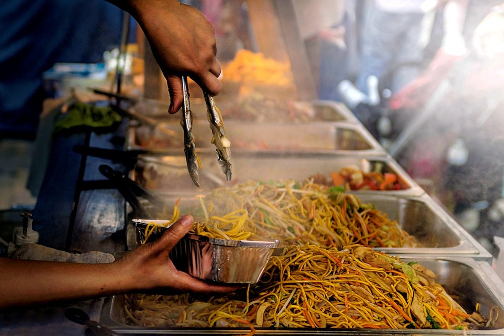 Noodles_Street Food_Sidewalk Blog