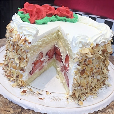 Fresh Strawberry Cake. Photo: Phoenix Bakery