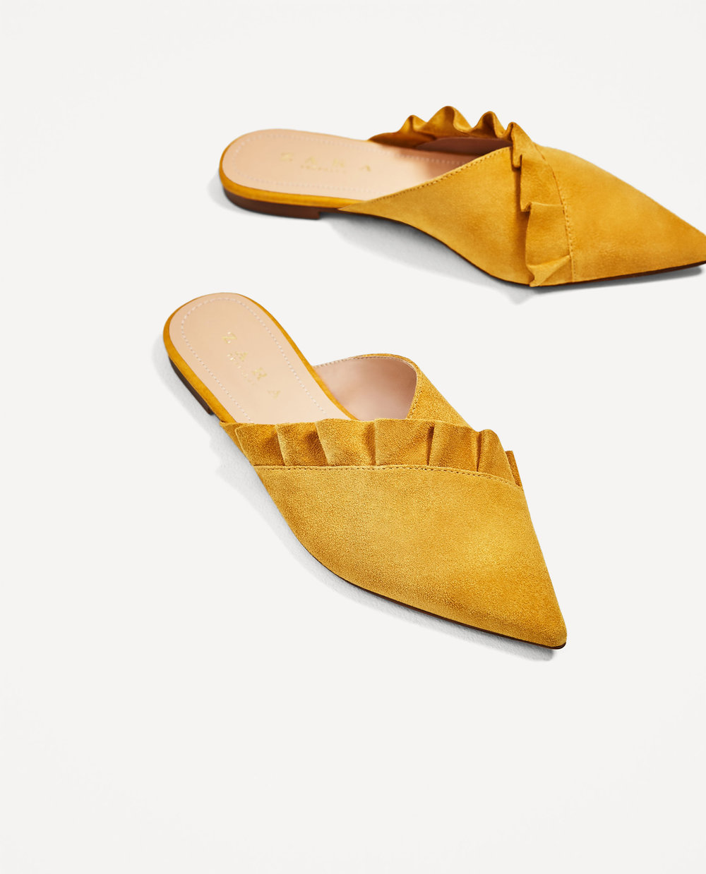 STATEMENT SHOES - LEATHER MULES