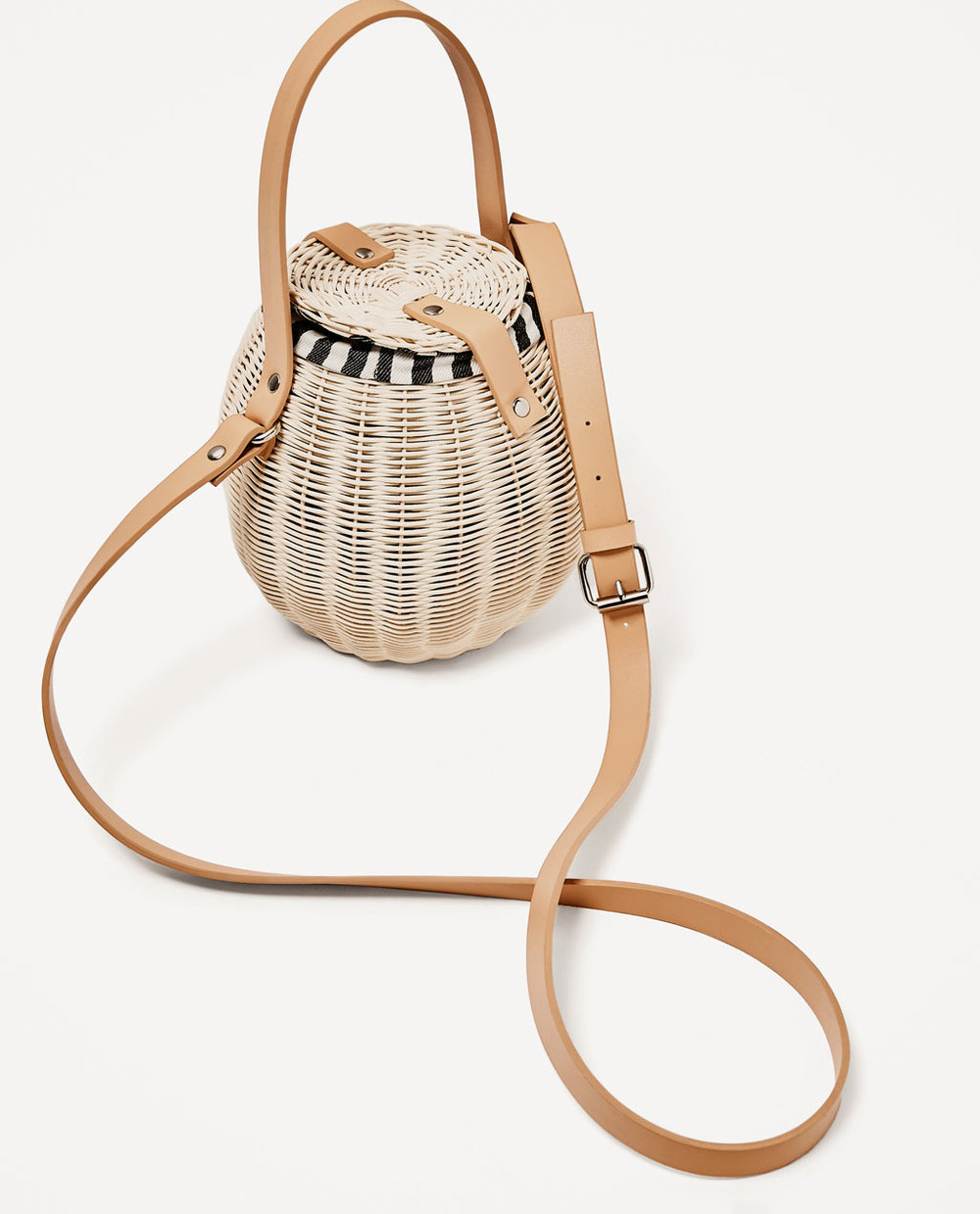 PICNIC BUCKET CROSSBODY BAG