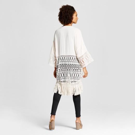 crochet kimono kaftan