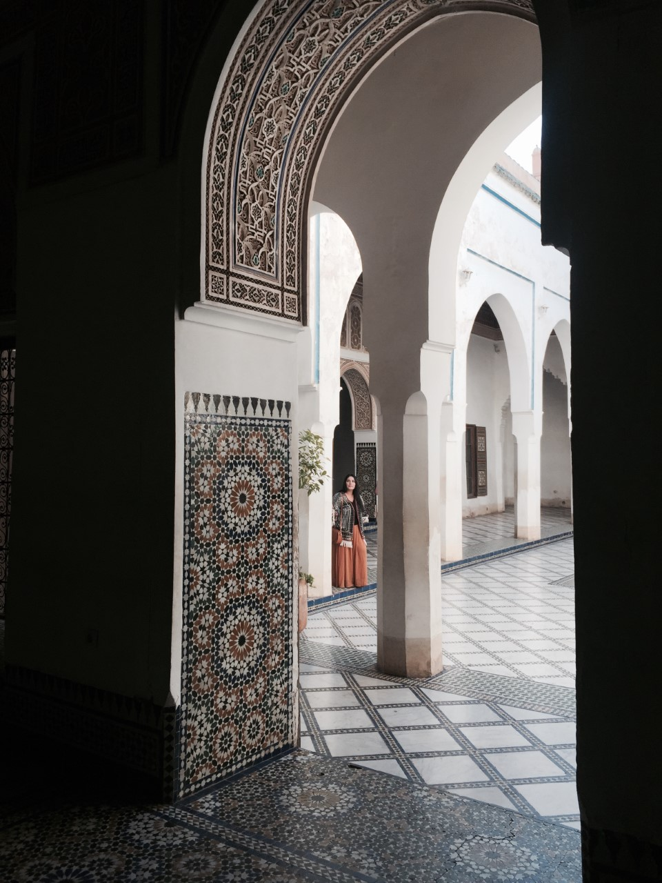 BAHIA PALACE - The Bahia Palace, meaning brilliance in Arabic, is perhaps one of the best-preserved historical sites and certainly most interesting in Marrakech.