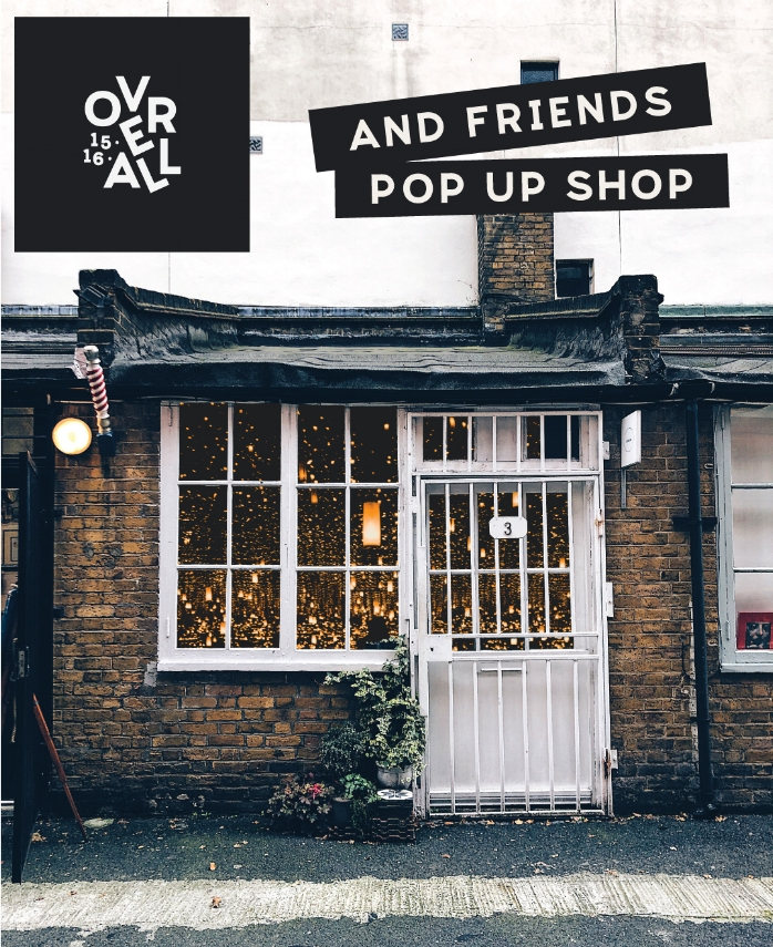 A Curated Collection of Independent Designers - 3 Cleve Workshop, Boundary Street, E2 7JD11am - 6pm29th November - 1st December '18
