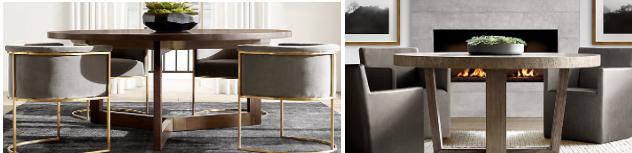 Examples of RH furniture (image credit Restoration Hardware)