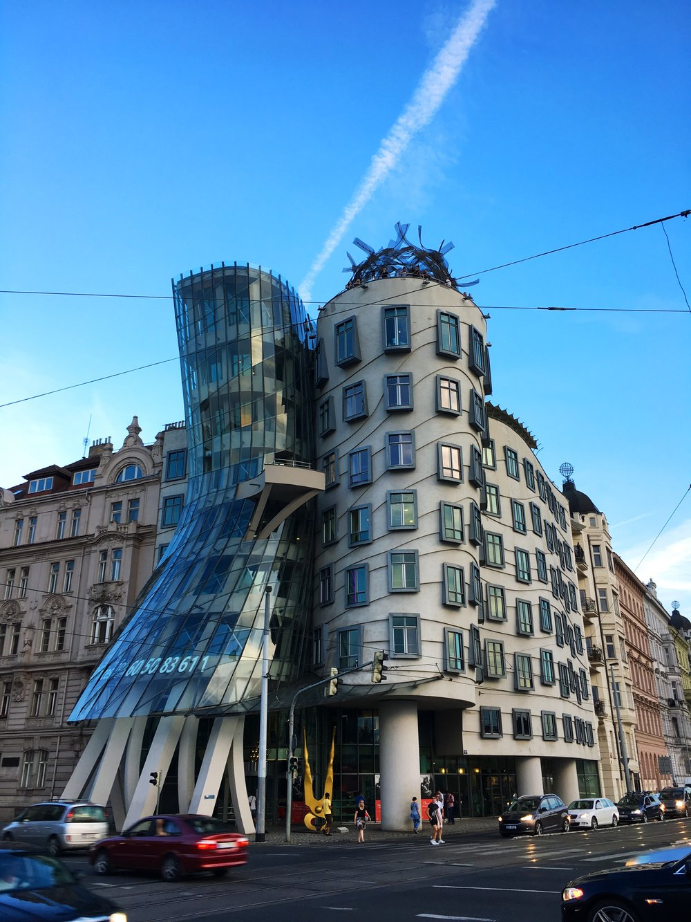 The Dancing House, Ginger & Fred