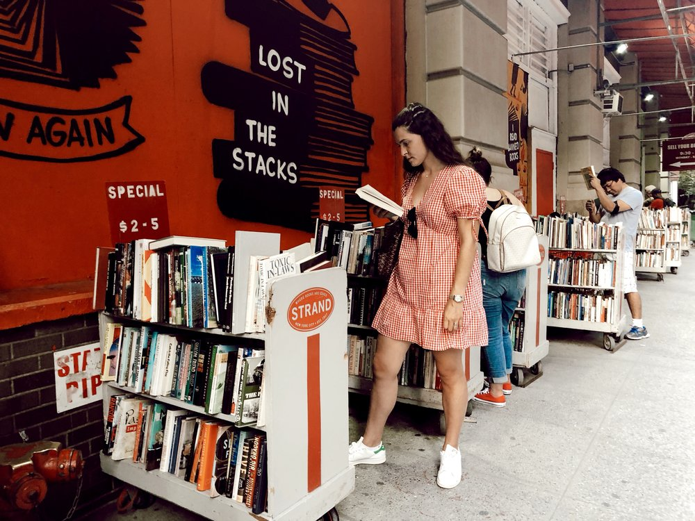 Lost in the stacks at my favorite bookstore in NYC  //  SHOP HERE