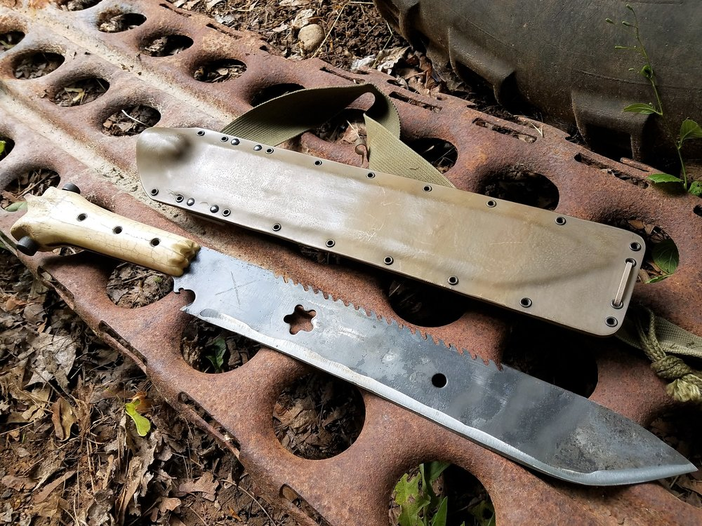 Wasteland Post- Apocalyptic Survival Machete.