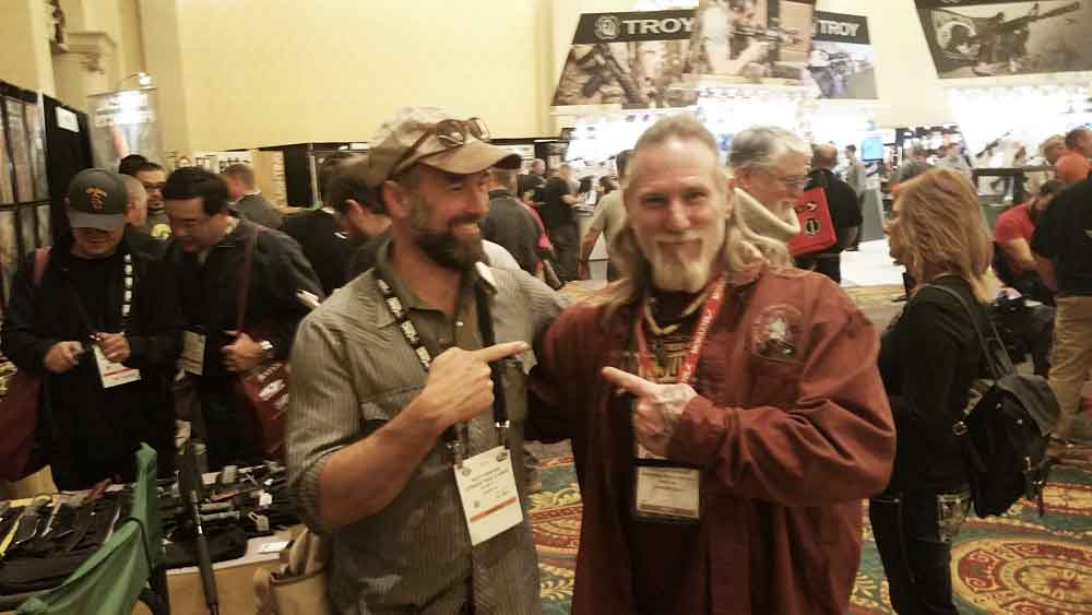 Matt Graham and Dave Canterbury Shot Show 2016