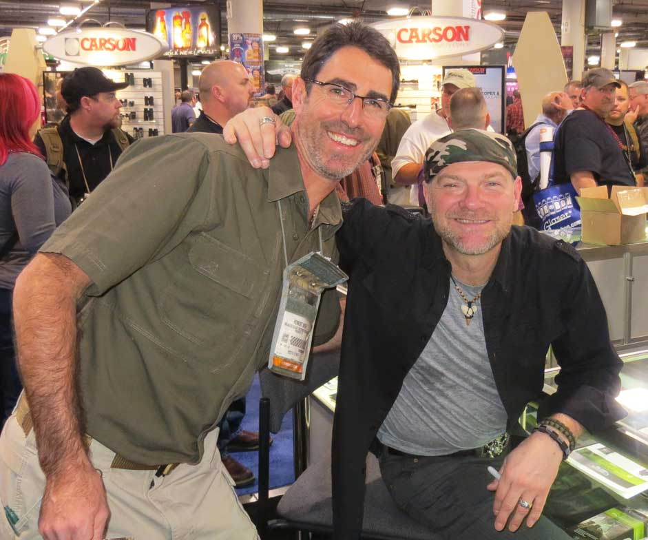 RFW with Survivor Man Les Stroud