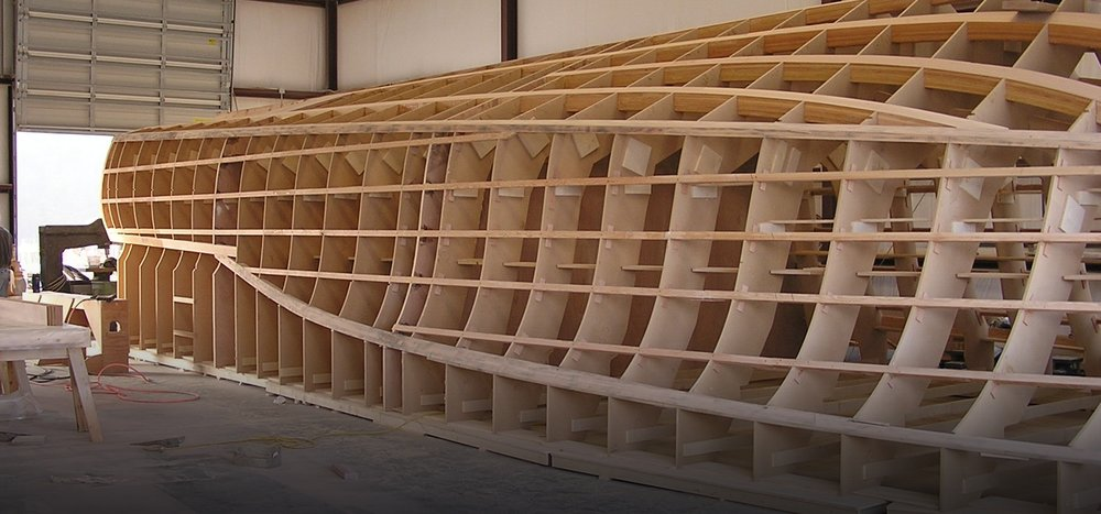 PRODUCTION SUPPORT FOR WOODEN VESSELS