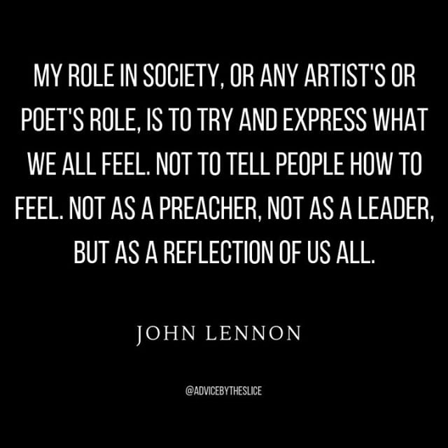 This week's good words come from Mr. John Lennon. ⠀ ⠀ 🔳⠀ .⠀ .⠀ .⠀ .⠀ .⠀ #musicbusiness #indiemusic #musicindustry #diymusician #musicblog #musicadvice #newYork #brooklyn #NYC #unsigned #unsignedartist #newmusic #newblog #motivation #networking #tennessee #americana #music #independentmusician #independentartist #thebeatles @thebeatles #johnlennon #quote #musicquote #quoteoftheday #motivationalquote #qotd