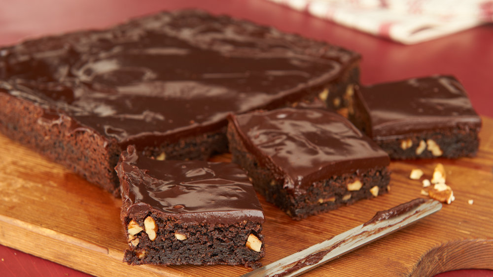 Recipedia Decadent Double Fudge Brownies