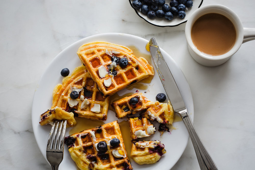 Green Valley Organics Corn Waffles