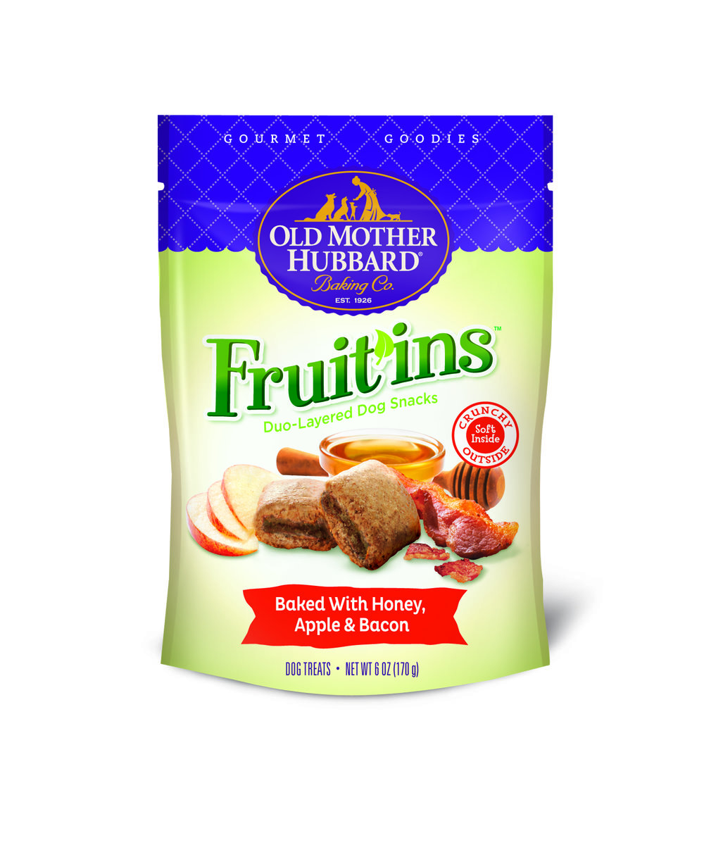 Old Mother Hubbard Fruit'ins Duo-Layered Dog Snacks