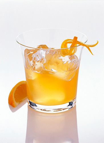 Jim Beam Orange Bourbon Rocks