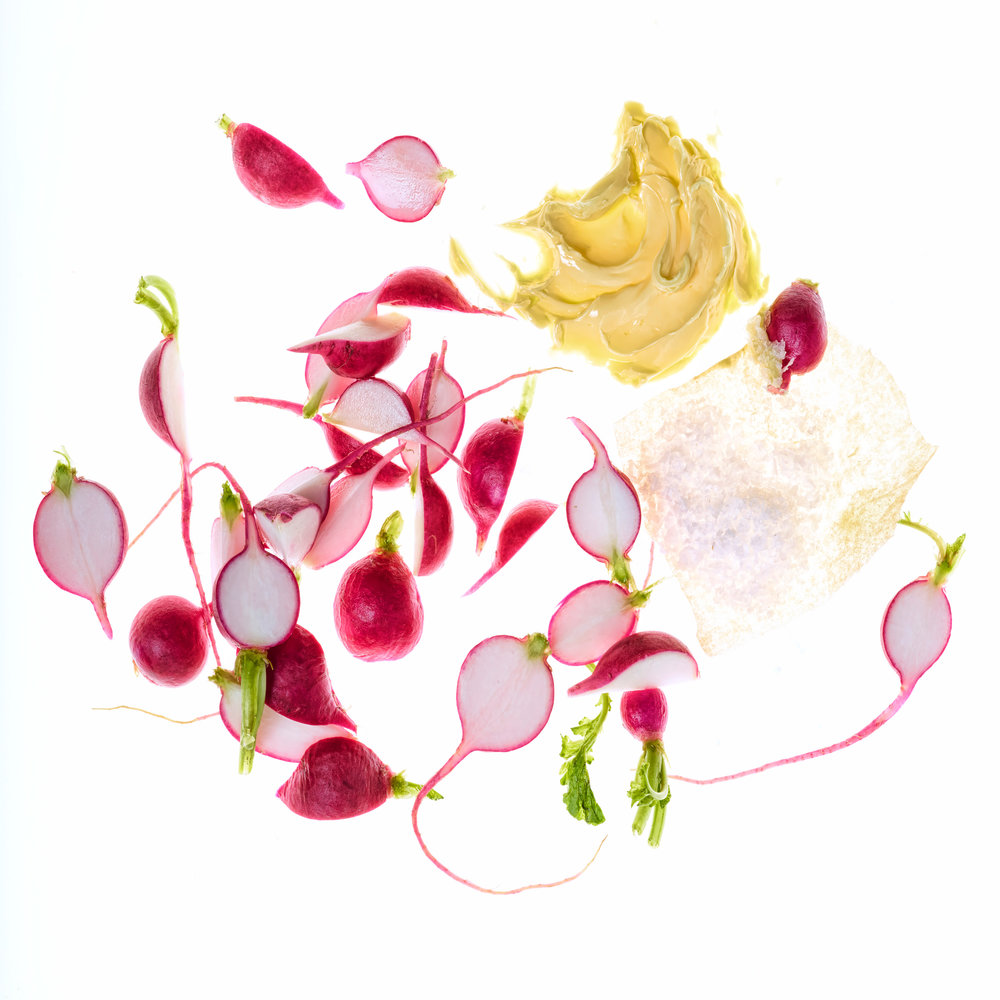 Radishes with Butter and Salt