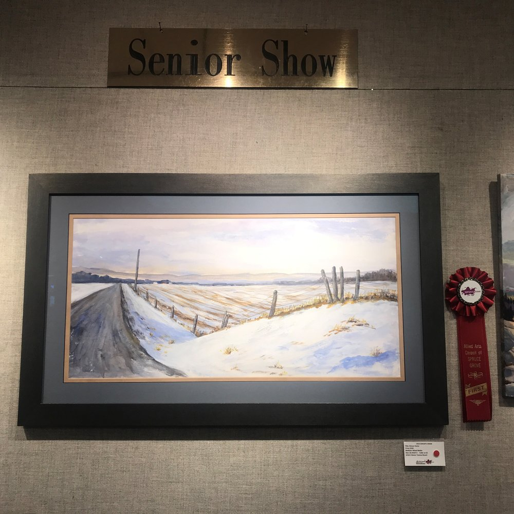 Yvonne Rivard -Almost Home 1st Place