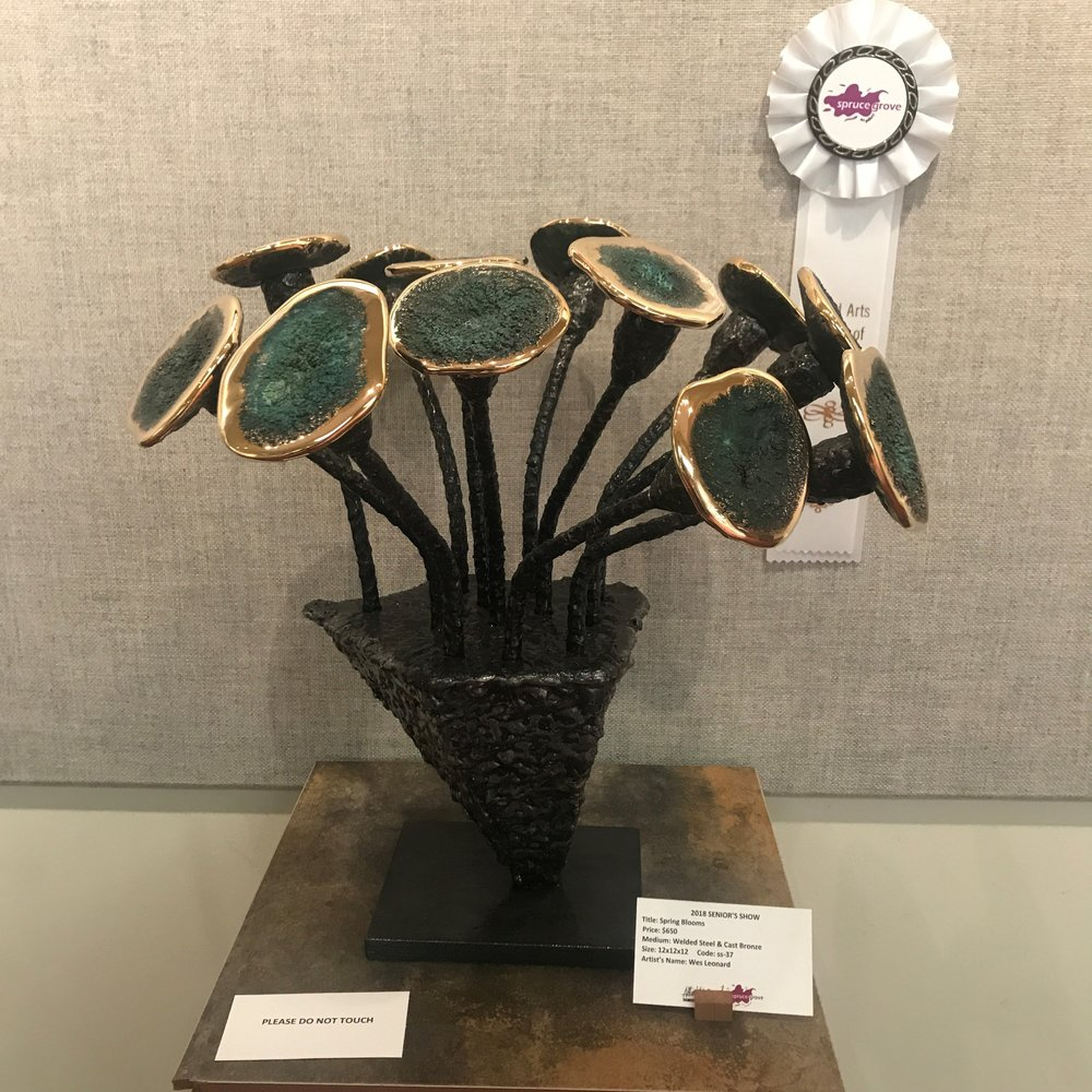 Wes Leonard -Spring Blooms 3rd Place