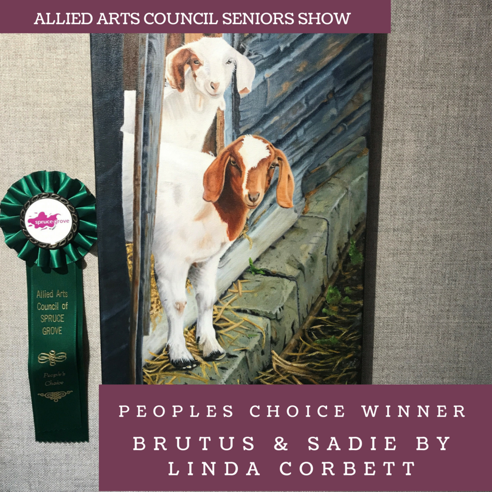 Brutus & Sadie by Linda Corbett