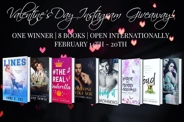 💕 BE MINE 💕 V-Day Instagram International Paperback Giveaway! LINK IN PROFILE 😘 I've joined forces with 7 amazing authors to bring you this epic Instagram giveaway.  8 SIGNED PAPERBACKS | ONE WINNER | OPEN INTERNATIONALLY Follow the participating authors on Instagram for a chance to win all these beauties from the picture! @annabdoe  @cambriahebert  @kbromberg  @micaleasmeltzer @authoramalirose @yeseniavargas32 @authorstaceylewis @alexandrasilvaauthor  Enter here: https://goo.gl/forms/xyHN2biRR7VDcYx93 (link in profile) *This giveaway is open internationally. Giveaway closed on February 20th, 11:59 PM. Winner will be chosen randomly and notified via e-mail.*