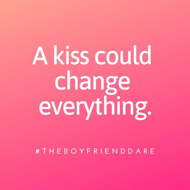 👀Who's ready for this book?? 💋#TheBoyfriendDare #yalit #yaromance #youngadultromance #amreading #comingsoon