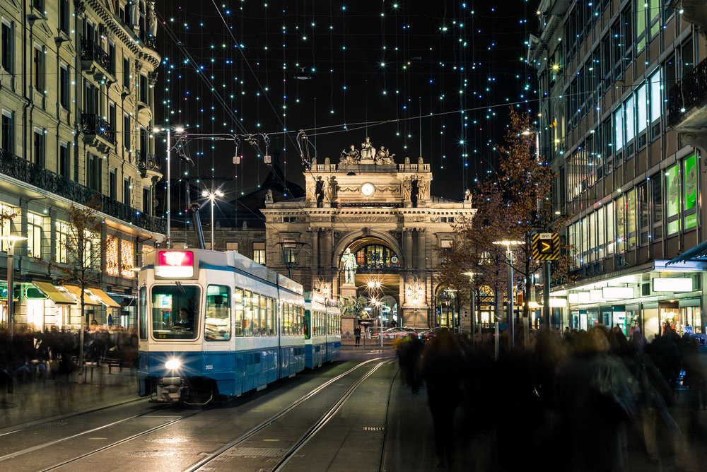 Tramways are the best option to get around Zurich city