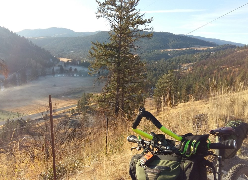 WESTERN KETTLE VALLEY RAILWAY 473 km point-to-point from Kelowna to Merritt, BC Mapped by Brian Kennelly